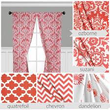 Pink Chevron Curtains Excellent Design Coral Chevron Curtains Interesting Ideas Peach