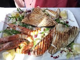 cuisine meridiana grigliata di pesce di mare picture of la meridiana pognana lario
