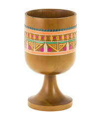 seder cups passover gifts wooden primitives passover elijah s cup