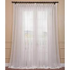 Double Panel Shower Curtains Exclusive Fabrics Signature Off White Extra Wide Double Layer