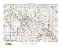 Cheyenne Map Cheyenne River Bad River Drainage Divide Area Landforms South