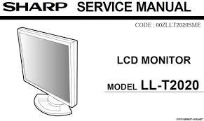 мониторы схемы и service manual