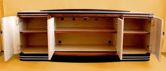 Art Cabinets Elm Burl Art Deco Stereo Cabinet