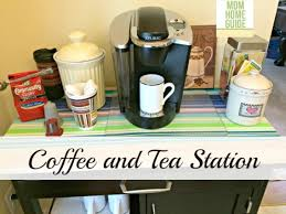 How To Organise A Small Kitchen - kitchen coffee station