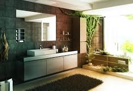 nice interior design idea of zen bathroom style with hanging