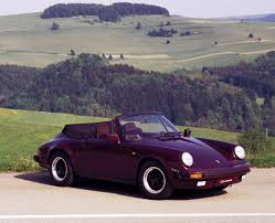 purple ferrari convertible porsche 911 carrera cabriolet 930 specs 1983 1984 1985 1986