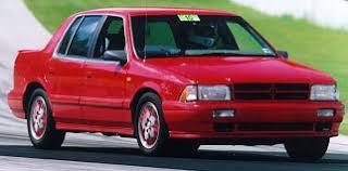 Dodge Spirit Plymouth Acclaim Chrysler Dodge Spirit