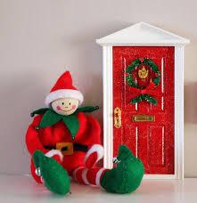 christmas fairy elf door u2013 flitterbee