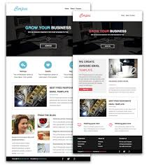 free responsive html email newsletter jpg 924 1024 email ad