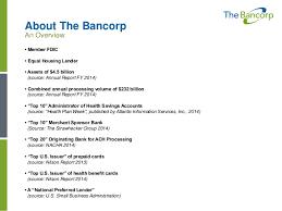 bancorp bank prepaid cards the bancorp franchise lending robert hernandez