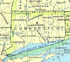 road map connecticut usa connecticut maps perry castañeda map collection ut library