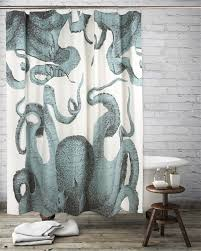 Shower Curtains Octopus Shower Curtain