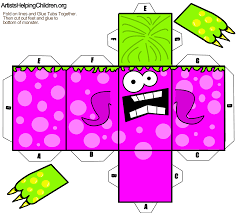 Halloween Craft Templates by Image Detail For Halloween Paper Toy Halloween à Imprimer Pdf