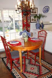 Red Dining Room Table Antique Dining Room Wall Decorating Ideas With Long Dining Table