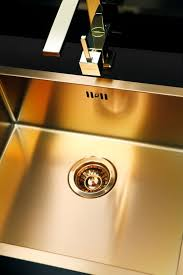 Bronze  Brass Kitchen Sink Flushmount Alveus Monarch Quadrix - Brass kitchen sink