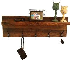 rustic entryway shelf and coat rack rustic display and wall