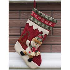 wholesale merry decoration hanging present sock