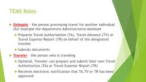 Massachusetts electronic system for travel authorization images Banner travel and expense management system tems overview ppt jpg