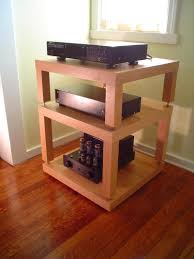 Ikea Lack Side Table Another Great Looking Hifi Rack Built From Ikea Lack Side Tables