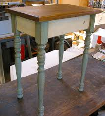 Small Side Table by Aesthetics A Junker U0027s Journal Vintage Stair Spindle Projects