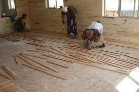 Hardwood Floor Installers Installing Wood Floor My Happy Floor