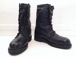 biker style mens boots military combat boots mens 7w black cs 5 3 biker style steeltoe