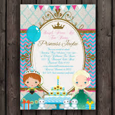 Frozen Invitation Cards Frozen Fever Invitation Frozen Birthday Party Princess