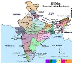 Map States India Map With States Name 2017 Image Gallery Hcpr