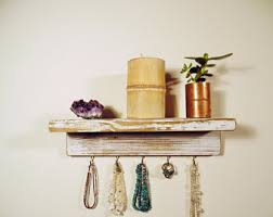 Shabby Chic Jewelry Display by Jewelry Hooks Etsy
