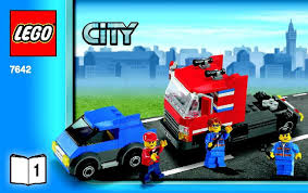 lego garage instructions 7642 city