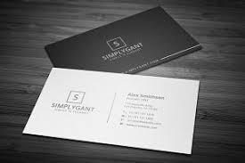 Best Minimal Business Cards Business Card Templates Creative Market