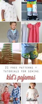 fleece jumper pattern toddler 21 free sewing tutorials and patterns for kids pajamas it s