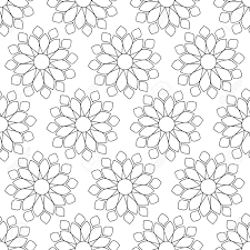 abstract vintage seamless background with mandala ornaments