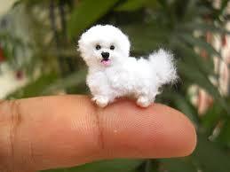 poodle y bichon frise bichon frise tiny crochet miniature dog stuffed animals