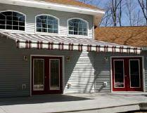 Retractable Awnings Nj Motorized Retractable Awning Installation In Brick Nj