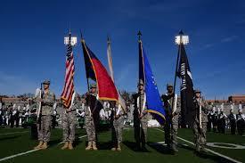 Charlotte Flag Unc Charlotte Honors Veterans Niner Times