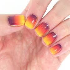 october nail art challenge day 6 gradient chantal u0027s corner