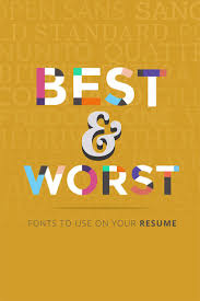 Best Font For College Resume by Best 20 Resume Fonts Ideas On Pinterest Create A Cv Resume