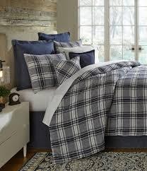 cremieux winslow plaid linen comforter mini set dillards