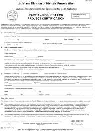 Sle Letter Of Certification Of Employment Request State Commercial Tax Credit Division Of Historic Preservation
