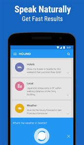 voice search app for android soundhound s voice search app hound is now out of beta