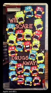 Red Ribbon Week Door Decorating Ideas Pin By Lorena Arredondo On Red Ribbon Week Pinterest Red