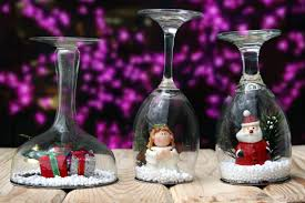 how to make wine glass snow globes 10 steps with pictures