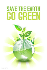 design logo go green save the earth go green poster template postermywall