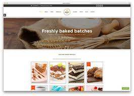 20 best wordpress themes for bakeries u0026 coffee shops 2017 colorlib