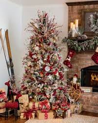 How To Decorate A Christmas Tree Simple Farmhouse Christmas Bedroom Decorating Bedrooms And Holidays