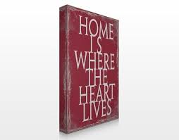 ka21 home is leinwand sprche homeiswhereyourheeartis homesweethome