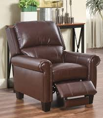 Brown Leather Recliner Recliners