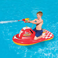 amazon com h2ogo inflatable wave attack rider pool float toys