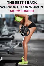 dress weights 8 awesome at home back workouts with weights for women backless